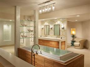 Spa Bathroom Lighting Modern Bathroom Lighting Hgtv