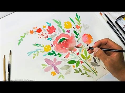 how to make watercolor greeting cards diy greeting card watercolor painting level 3