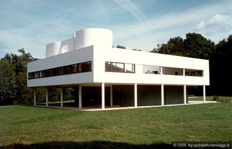 Architettura Moderna Ville by Villa Savoye Poissy Manifesto Dell Architettura