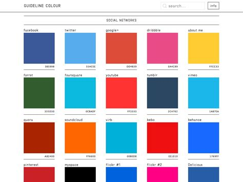 most popular color schemes what s new for designers february 2014 webdesigner depot