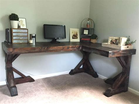 home office diy corner desk built in ideas pallet 301