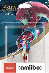 Amiibo Mipha The Legend Of Breath Of The mipha amiibo figure by nintendo the legend of breath of the series