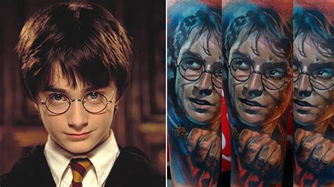 harry potter best the best 20 harry potter tattoos of all time