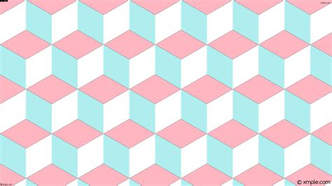 wallpaper pink blue white wallpaper blue white 3d cubes pink ffb6c1 afeeee ffffff