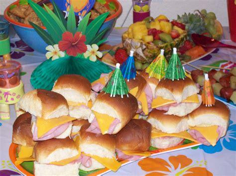 tiki food image gallery luau food