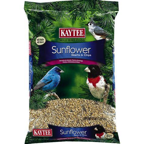 sunflower hearts chips pet bird treats kaytee