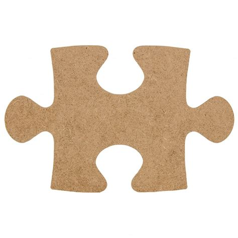 decoration piece 10 quot wooden puzzle piece decoration natural ab2319