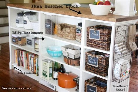 ikea hackers kitchen island billy bookshelves kitchen island ikea hackers ikea hackers