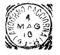 frazionari uffici postali il postalista e la marcofilia