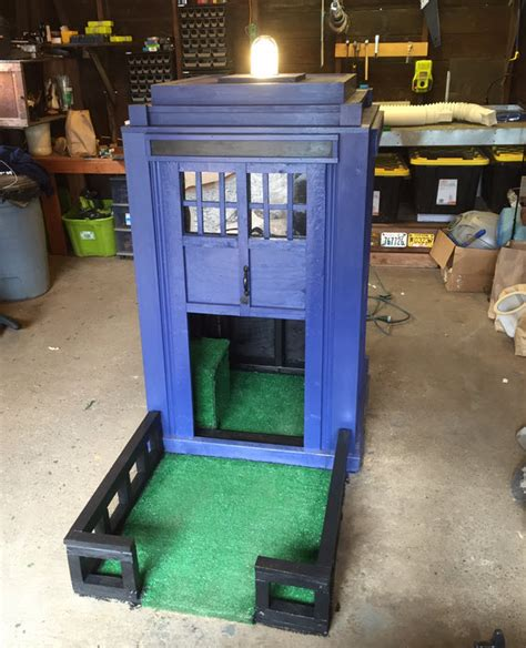 tardis dog house diy tardis doghouse petdiys com