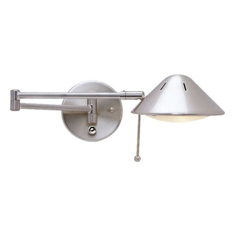 swing arm light led swing arm plug in wall l jw 200 sn destination