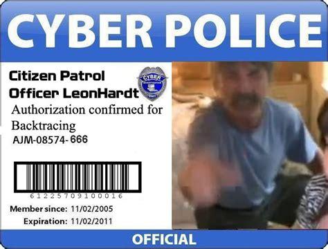 Cyber Police Meme - troll kneipe allmystery