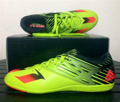 Sepatu Bola Adidas Messi 213 Terbaru sepatu futsal adidas messi 15 3 slime green s74691