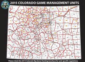 colorado unit map colorado guides outfitters world class outdoors
