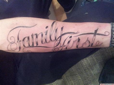 family tattoos 20 attractive family 20 best family wording on arm