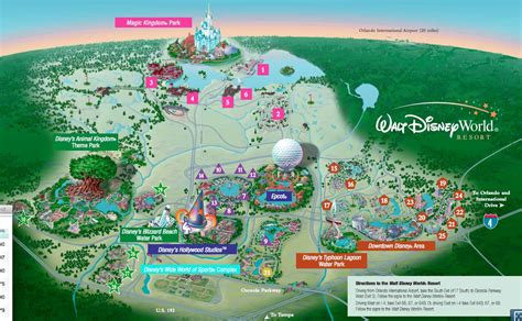 disney resort map all resorts dadfordisney
