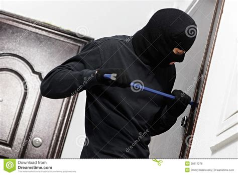 house breaking thief burglar at house breaking royalty free stock photos image 28511278