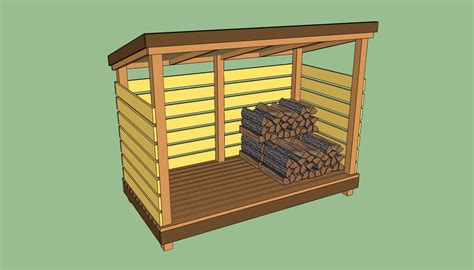 Firewood Shed Plans Free by How To Build A Wood Shed Howtospecialist How To Build Step By Step Diy Plans