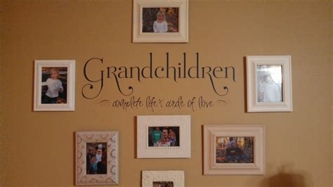Grandchildren complete life s circle wall decals trading phrases