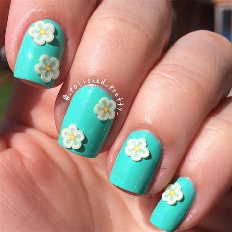 imagenes de uñas de acrilico color turquesa 101 sensacionales ideas de u 241 as decoradas