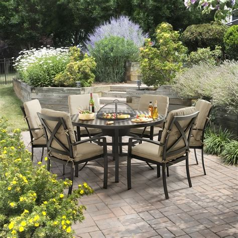 Oliver Patio Set by Hartman Oliver Dining Set 6 Seater Whilton Locks