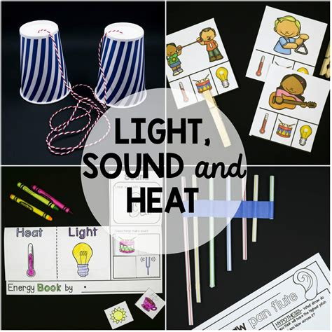 what is light and sound light sound and heat the stem laboratory