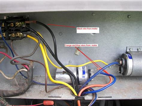 capacitor start motor wiring diagram start kit wiring