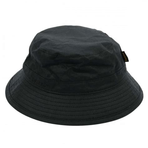 Barbour Wax Hat In Black barbour wax sports hat black mens clothing from attic