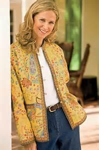 ladies summer fashion jacket provencal print reversible
