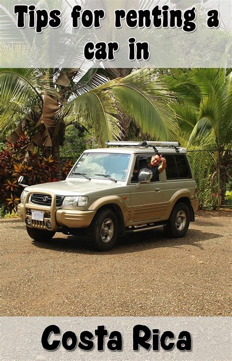 important tips  renting  car  costa rica