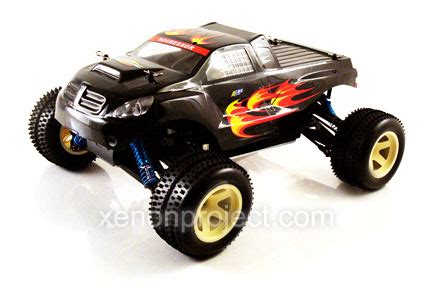 conquistador nitro rc monster acme conquistador monster black