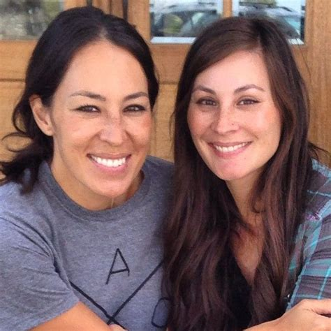 joanna gaines without makeup joanna gaines with her sister all things magnolia homes