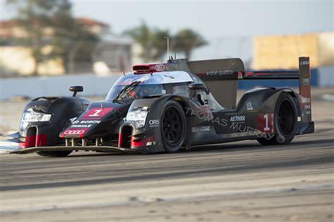 audi   tron quattro breaks cover  sebring test