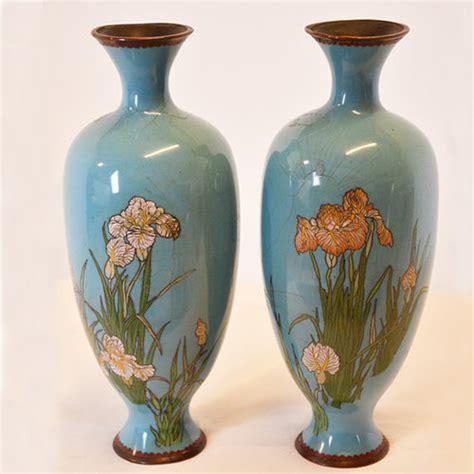 Cloissone Vase by Antiques Atlas Cloisonne Vase Cloisonn 233 Pair Of Baluster