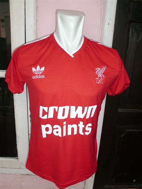 Baju Bola Original Adidas jersey liverpool crown paint cv look media