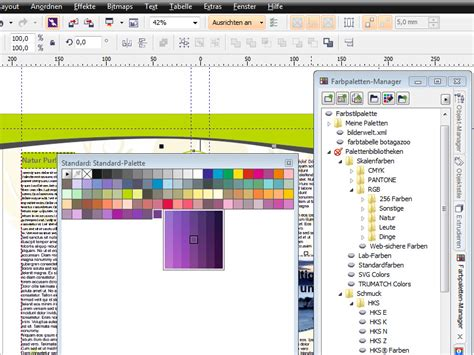 corel draw x6 lessons coreldraw x6 grundlagen farbpalettenmanager corel