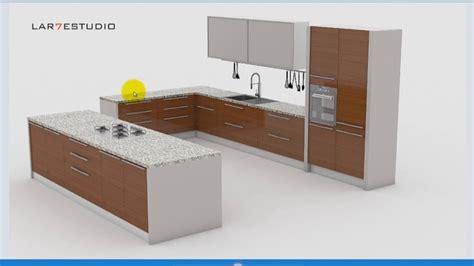 curso tutorial modelado muebles de cocina sketchup gratis