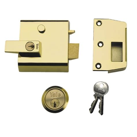 Front Doors Locks Yale Locks P1 Security Nightlatch Chrome Tools Warehouse Co Uk Brand Tools Value Prices