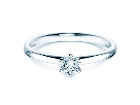Verlobungsringe Silber Gold by Verlobungsring Silber Diamant 0 25 Ct 430598 Ringe