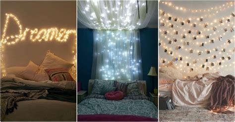 ordinary String Light Decoration Ideas #4: string-lights-bedroom.jpg