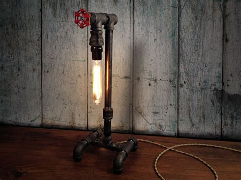 Edison Table L Industrial Lighting Steunk Decor Cave Light Fixtures