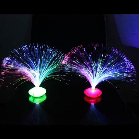 color optics color changing led fiber optic light l stand home