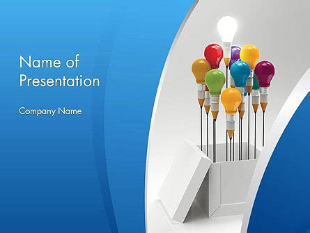 Creative Design Thinking Powerpoint Template Backgrounds 11874 Poweredtemplate Com Free Design Thinking Powerpoint Template