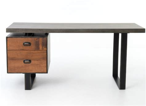 wood desk make your office more eco friendly with a reclaimed wood desk