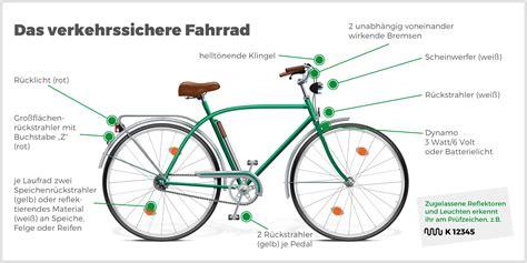 Beschriftung Verkehrssicheres Fahrrad by Sicher Im Stra 223 Enverkehr Unterwegs Das Musst Du Beim