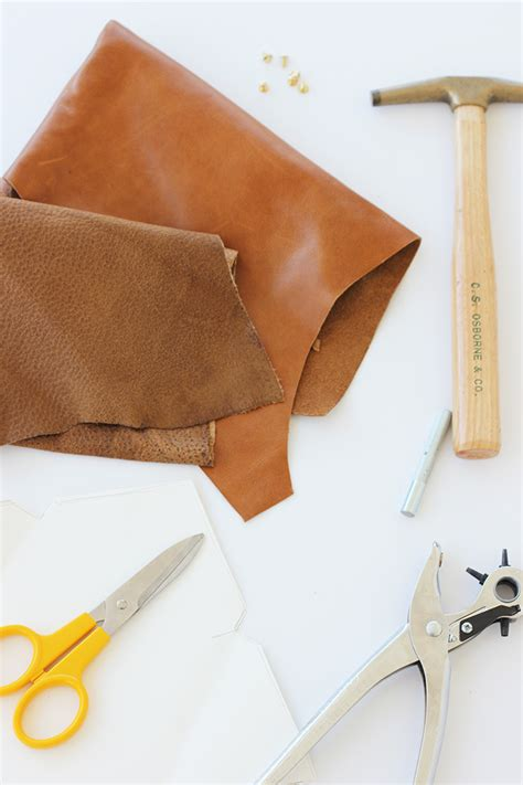 We Click Clutch how to make leather clutches glove crossbody bag