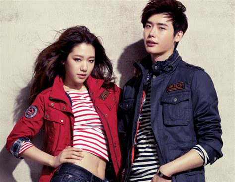 film korea action comedy terbaru lee jong suk says that park shin hye is lovable enough to