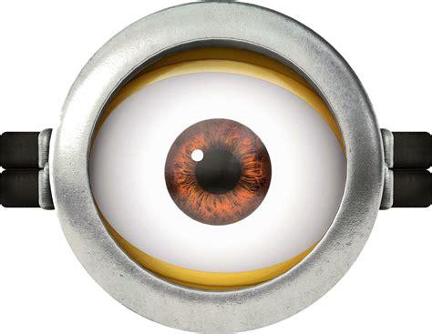 large printable minion eyes minions png