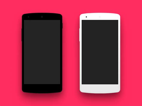 35 useful devices psd mockup templates - Android Phone Mockup