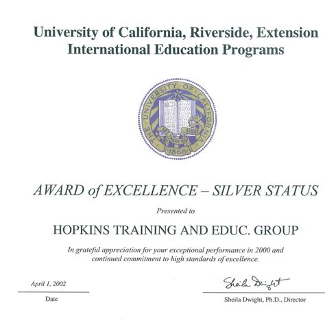 Best Mba Programs In Northern California by Receives The Gold And Silver Awards Of Excellence